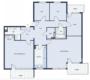 Vier Schlafzimmer, drei Balkone und jede Menge Platz - Grundriss mögl. Zusammenlegung