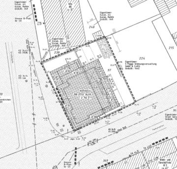 GE-Horst | Grundstück mit Baugenehmigung für 15 altengerechte Wohnungen & einer Gewerbeeinheit, 45899 Gelsenkirchen, Grundstück