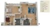 Erstbezug n.R. | Frisch renovierte 3-Zimmer-Wohnung sucht neue Eigentümer - Grundriss