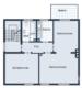 Gepflegtes Drei-Familienhaus mit Garten in attraktiver Lage von Bottrop - Grundriss 2. Obergeschoss