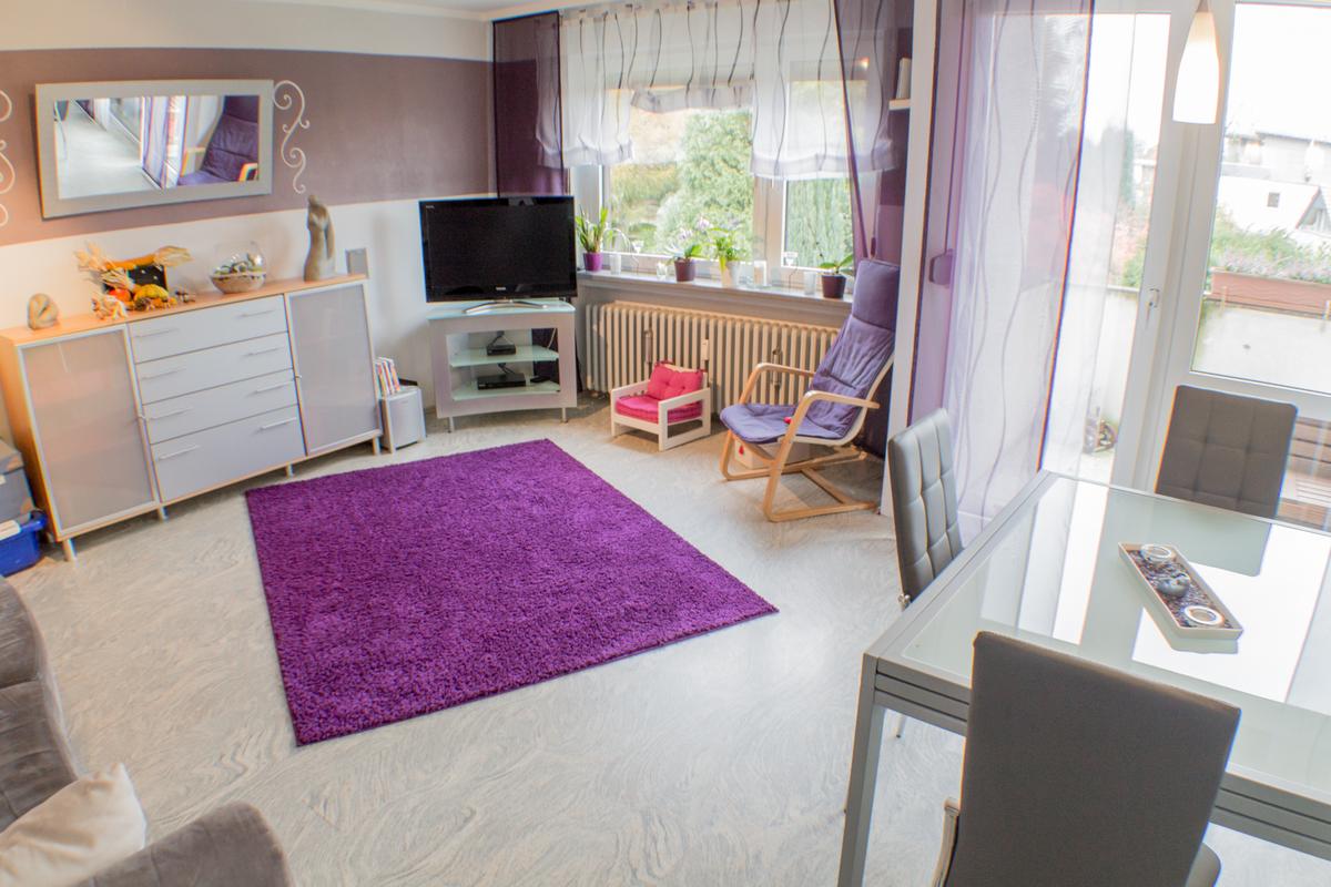 Wohnzimmer - Essbereich - Convido Immobilien